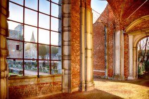 Abbaye d'Aulne - Le cloître