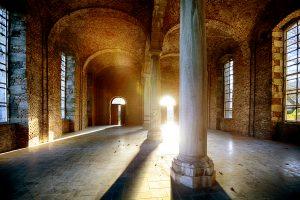 Abbaye d'Aulne - Réfectoire des moines