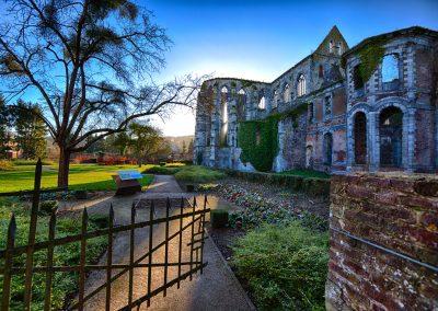 Ruines de l'église abbatiale