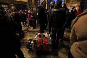 tambour lors du carnaval de Binche