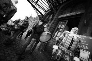 Gilles au carnaval de Binche