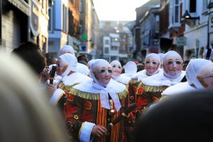 Gilles au carnaval de Binche - Belgique