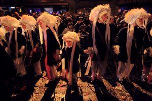 Paysans au carnaval de Binche en 2013 - Belgique