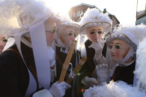Carnaval de Binche - Belgique - Les paysans